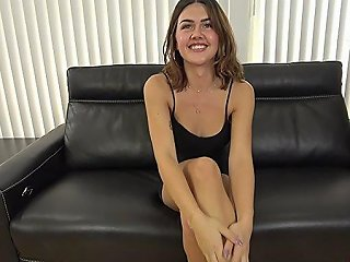 Hot Shemale Casting With Cumshot
